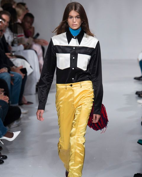 supermodels, first runway, last runway, modelling, career, transformation, kaia gerber, calvin klein, debut, 2018