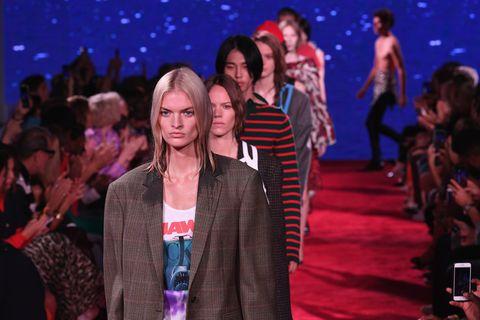 Calvin Klein September 2018 runway