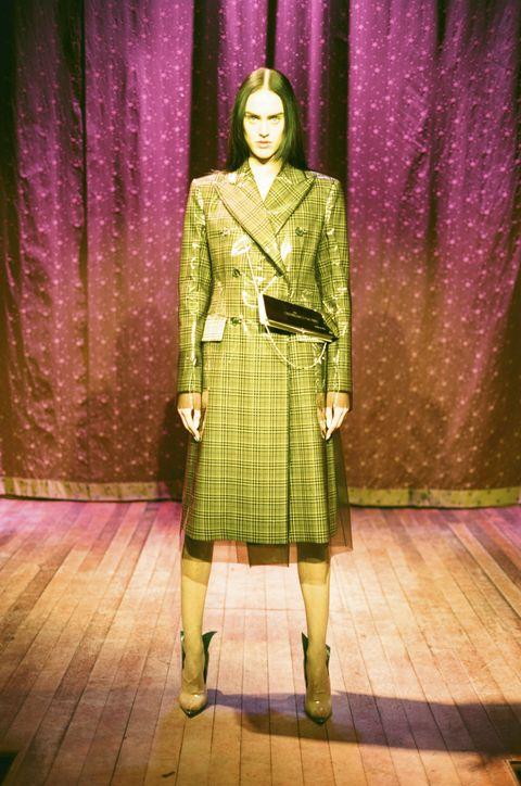 Textile, Purple, Tartan, Magenta, Plaid, Pattern, Blazer, Vintage clothing, Violet, Costume design,