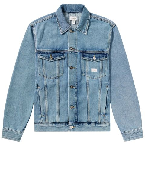 Denim, Clothing, Jeans, Sleeve, Blue, Outerwear, Textile, Pocket, Jacket, Collar,