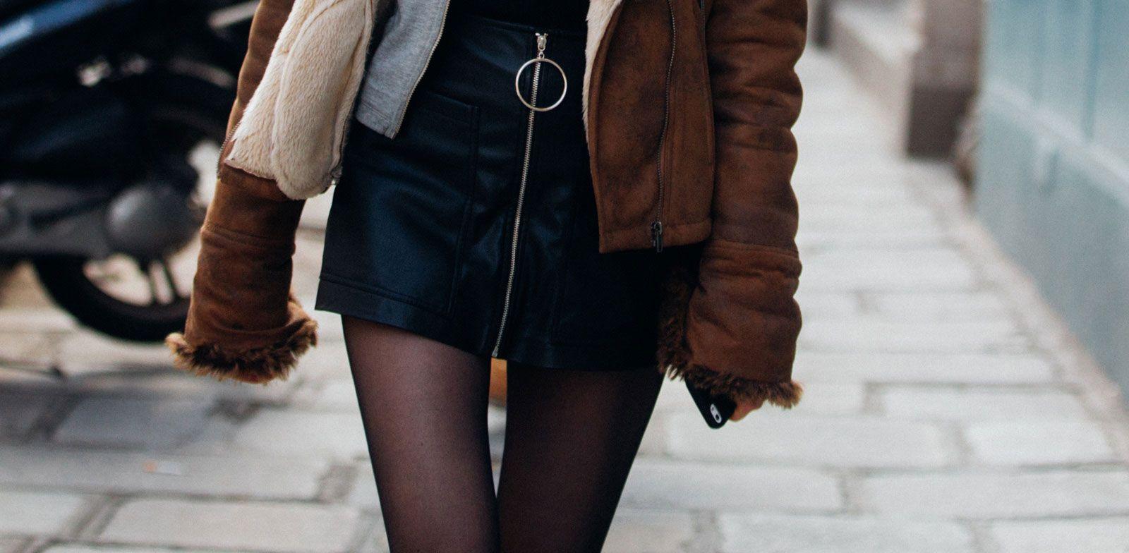 Quali calze e collant comprare per l'inverno 2019 e come abbinarle a 4 look top