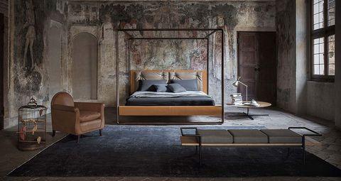 historia de las camas con dosel