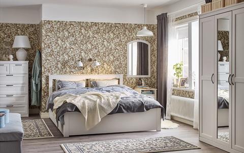 Tener un dormitorio chic no es sin nimo de despilfarre - Ikea mantas para camas ...