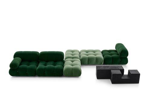 camaleonda sofa by mario bellini for bb italia