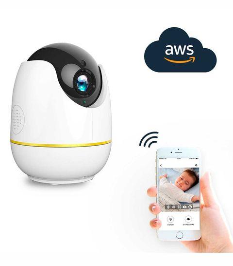 Cámara de seguridad doméstica inalámbrica Netvue IP Cámara WiFi Full HD 1080P para vigilar a tu bebé, en Amazon