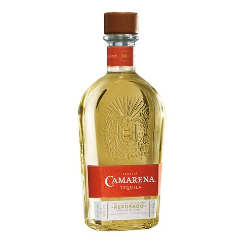 a bottle of camarena reposado tequila