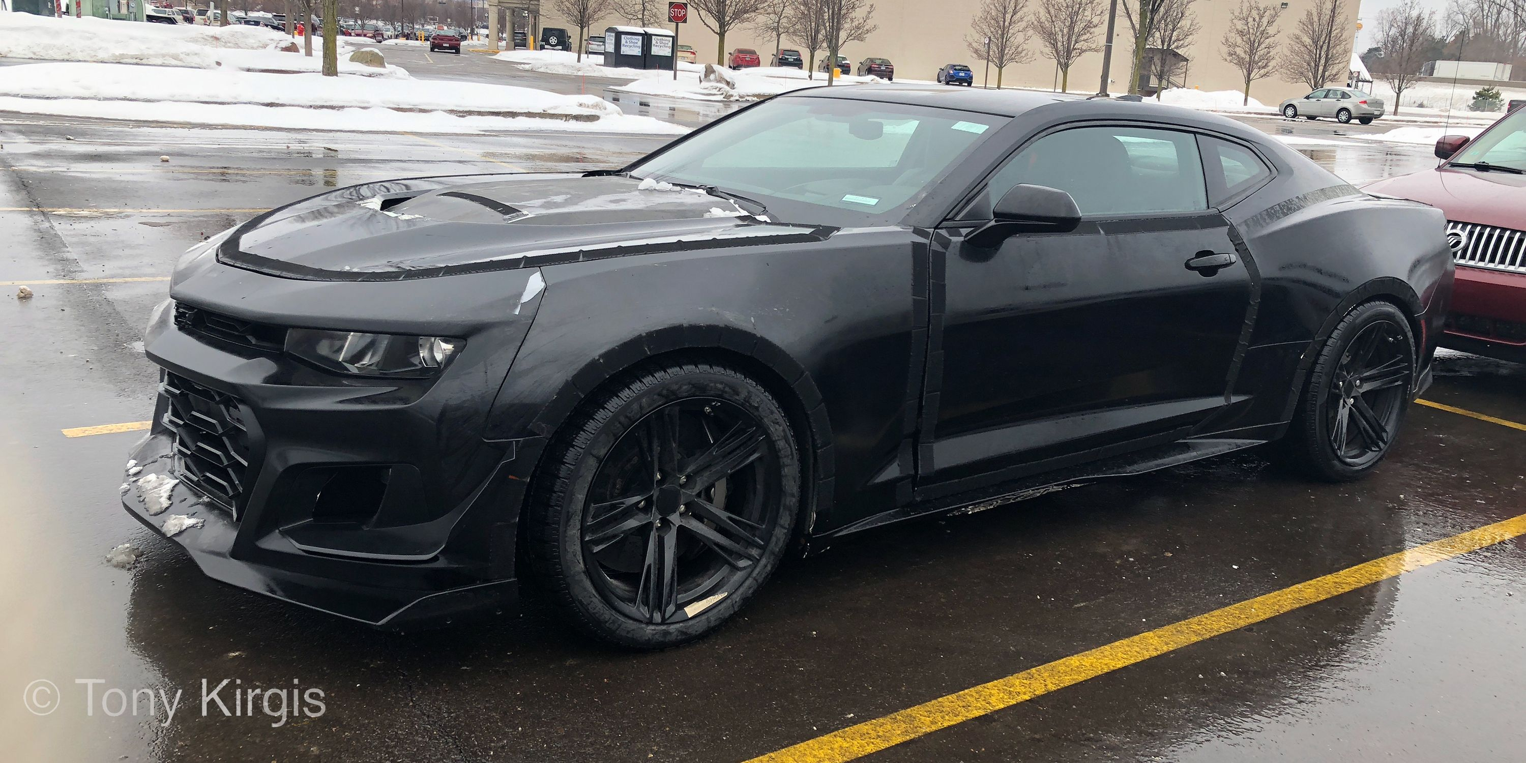What Is This Carbon Brake Equipped Camaro Prototype