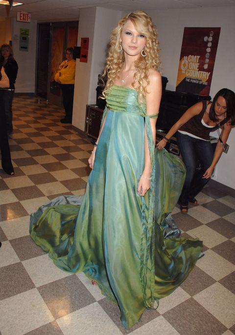 Taylor Swift, en 2007.