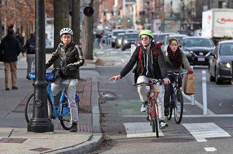 Cambridge bike lane