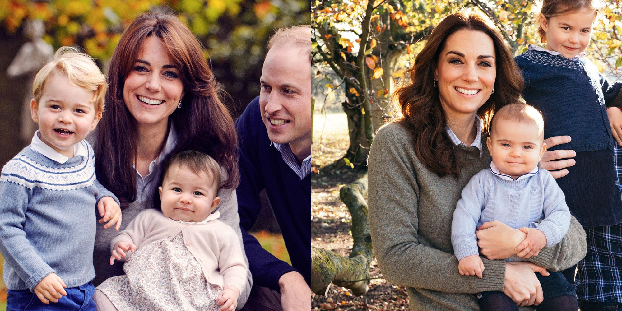 Kate Middleton S Outfit In The Cambridge S 2018 Christmas Card Is
