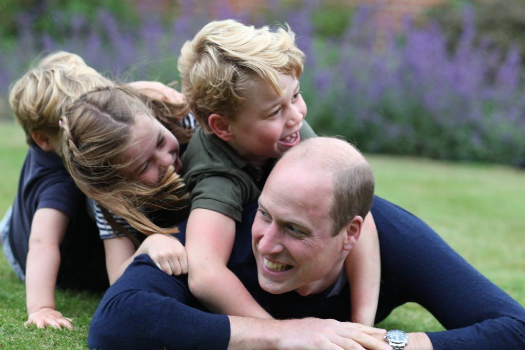 Prince William and the Cambridge Kids Pose for New Photos