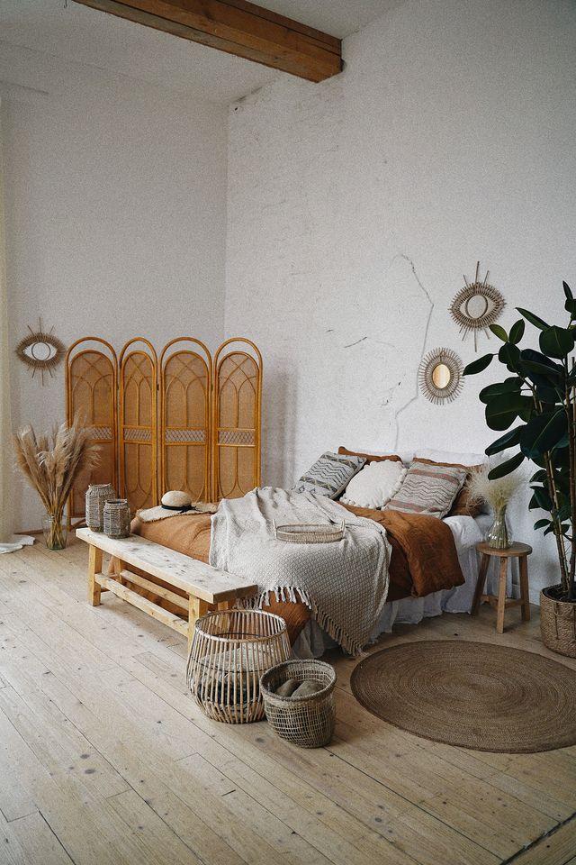 arredare in stile boho chic la camera da letto