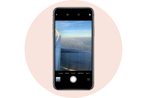 camera grid apple iphone