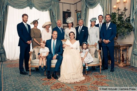 prince louis christening portraits