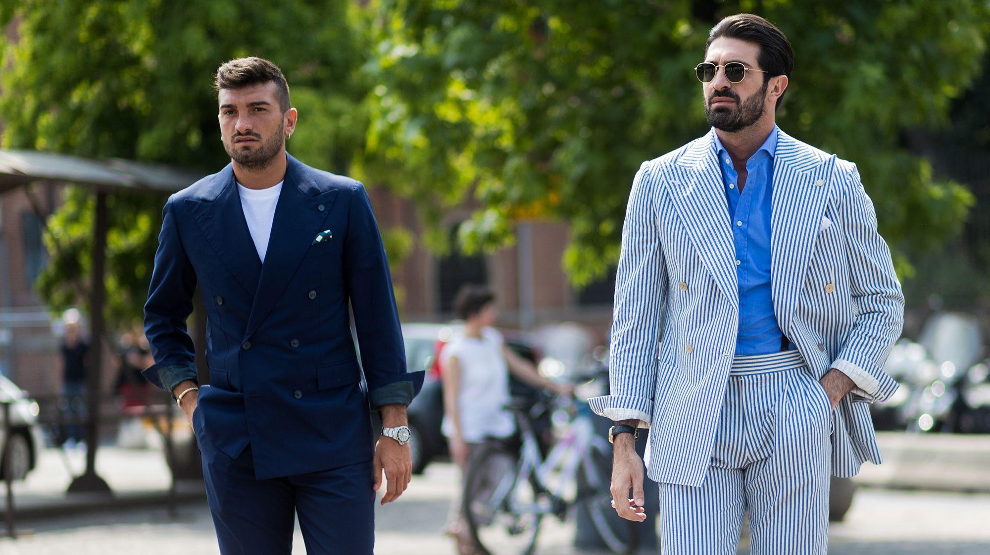 abbinamento giacca maglia uomo