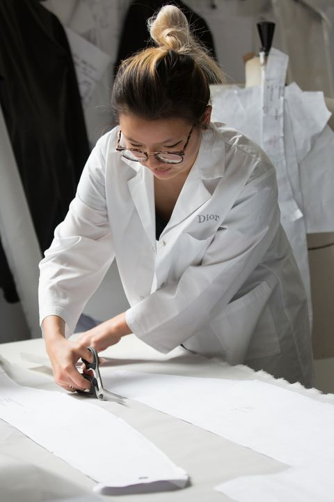 Fashion design, White-collar worker, Uniform, Hand, Job, Suit, White coat, Employment, Formal wear, Writing instrument accessory,