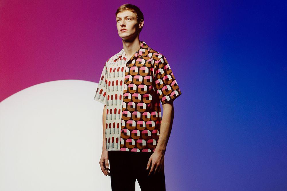 Le camicie clash di Prada adesso sono su misura e customizzate