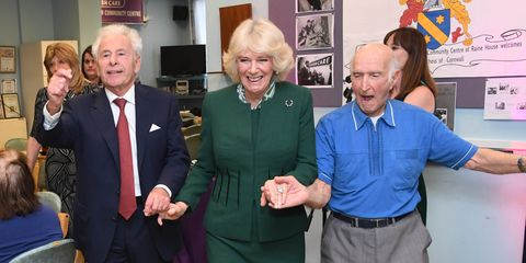The Duchess Of Cornwall Visits East London