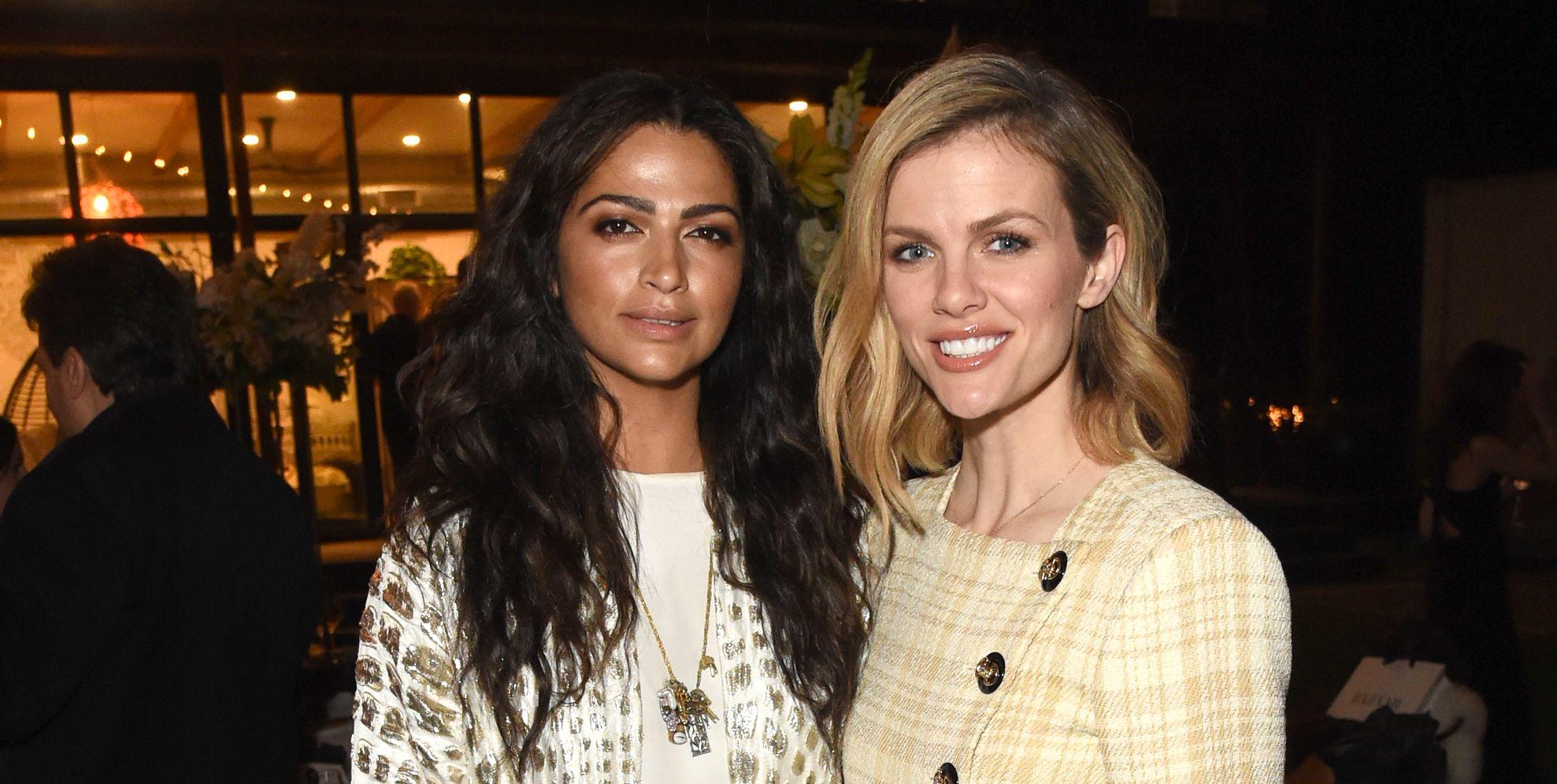 Brooklyn Decker & Camila Alves McConaughey Step Out to Celebrate International Women's Day