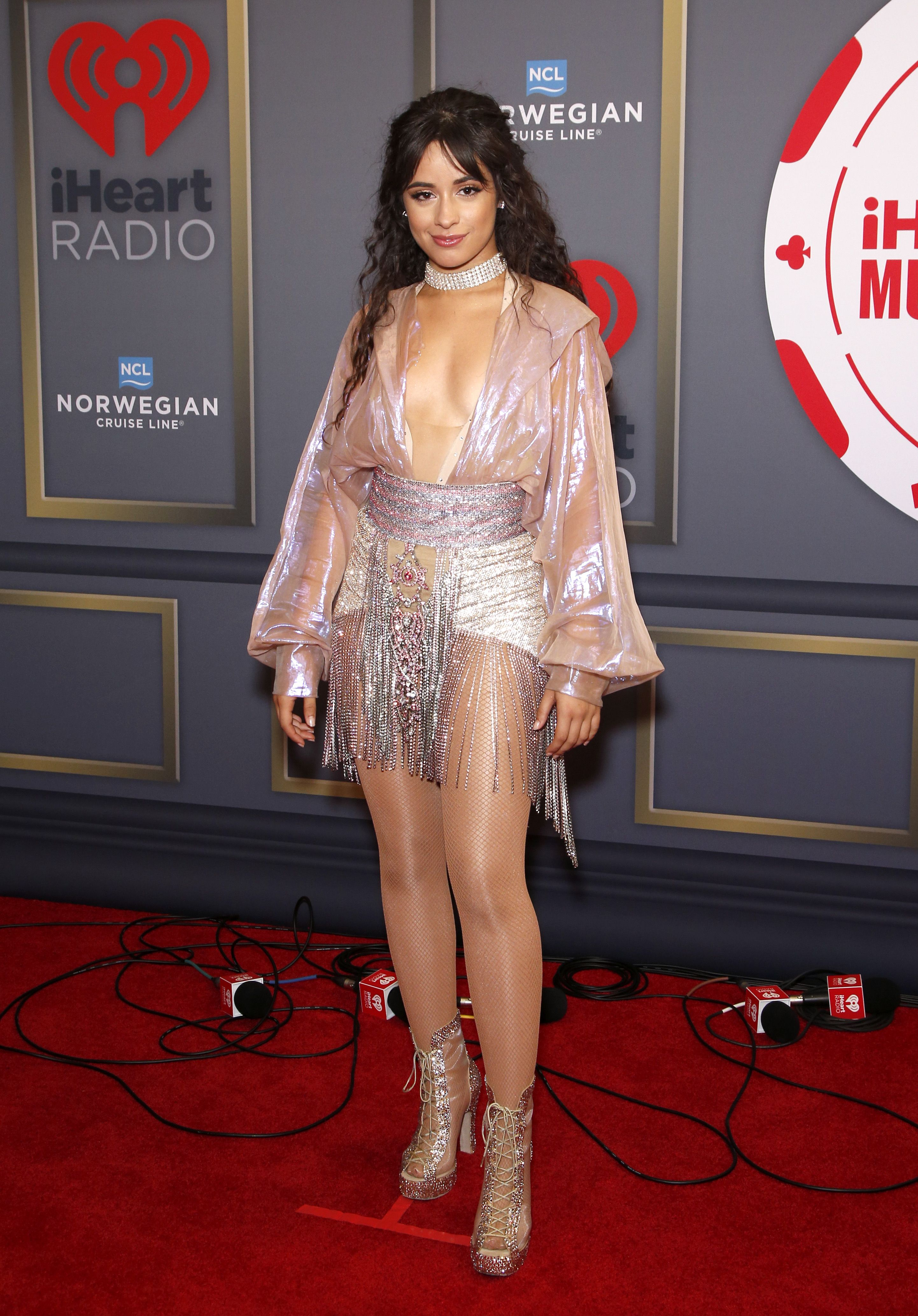 Camila Cabello Sings 'Señorita' Without Shawn Mendes at iHeartRadio Festival