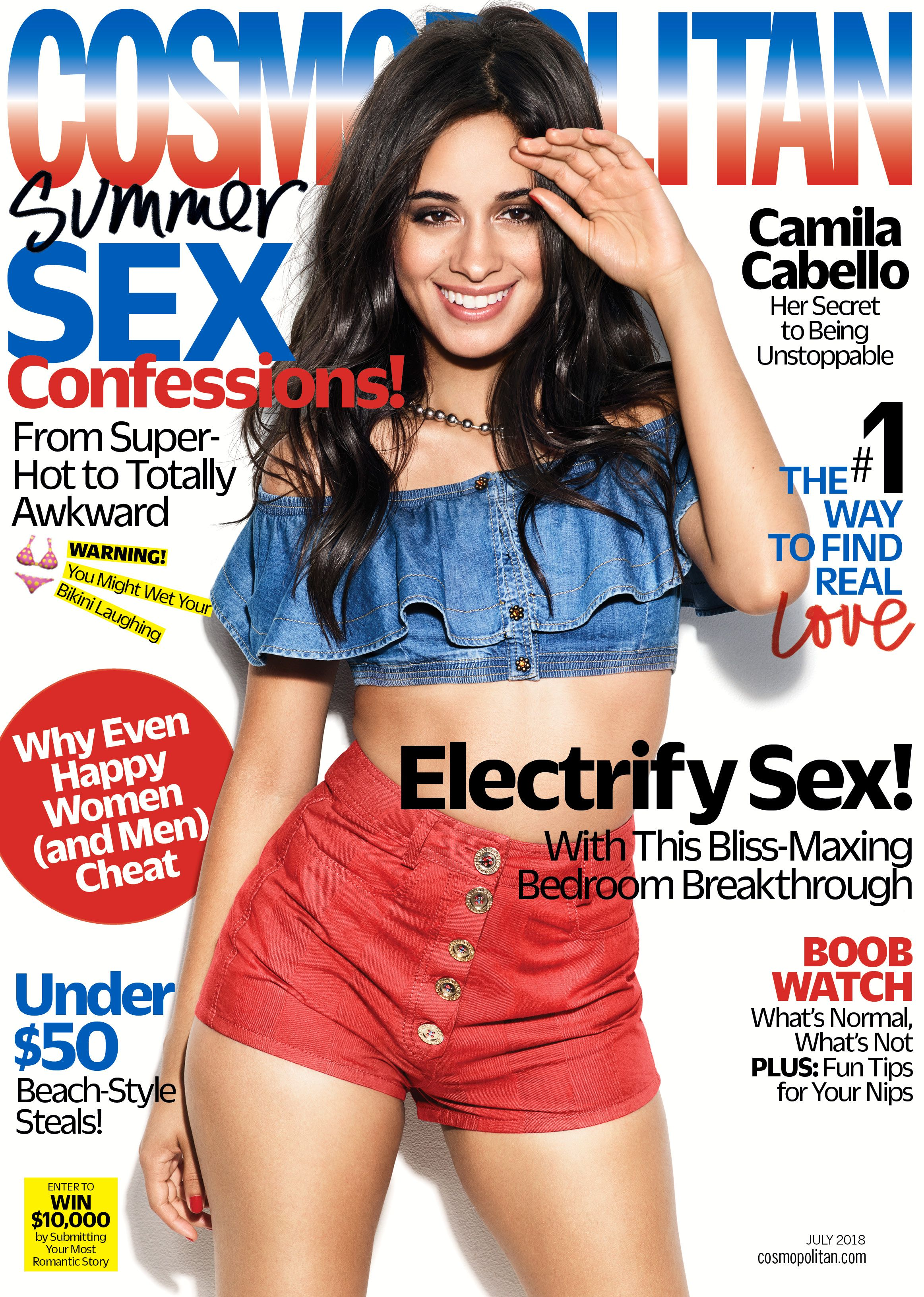Camila Cabello Talks Opening For Taylor Swift On Tour Camila Cabello Cosmo Cover