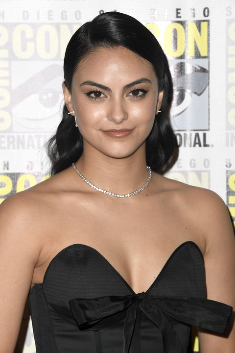 Celebrity Bob and Lob Hairstyle Inspiration - Camila Mendes