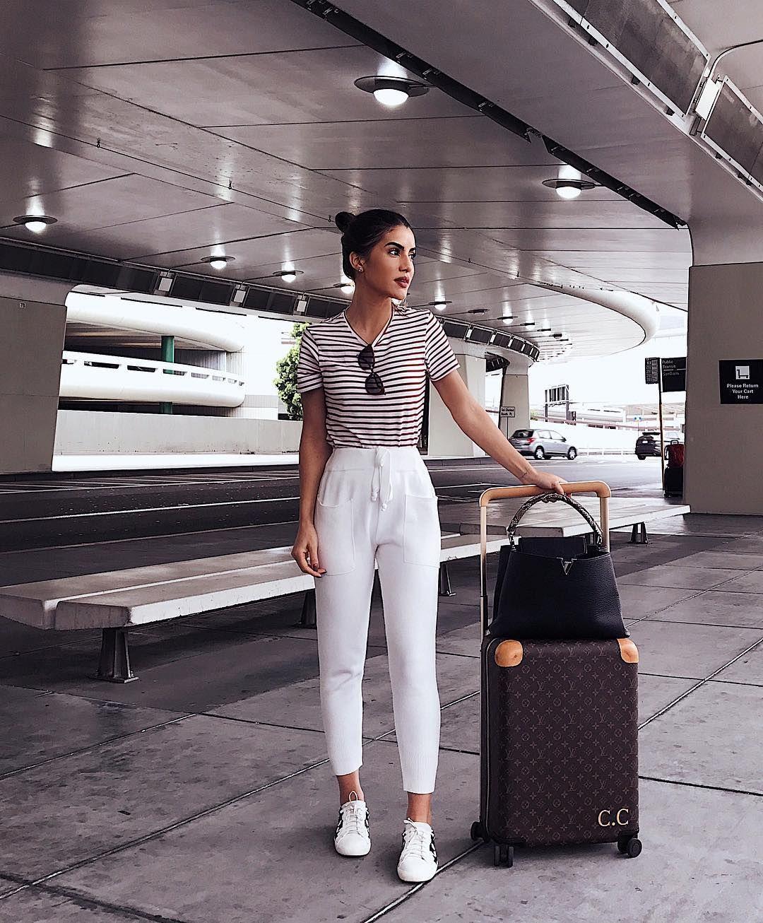 Cómo vestir (con estilo) para viajar según las que más