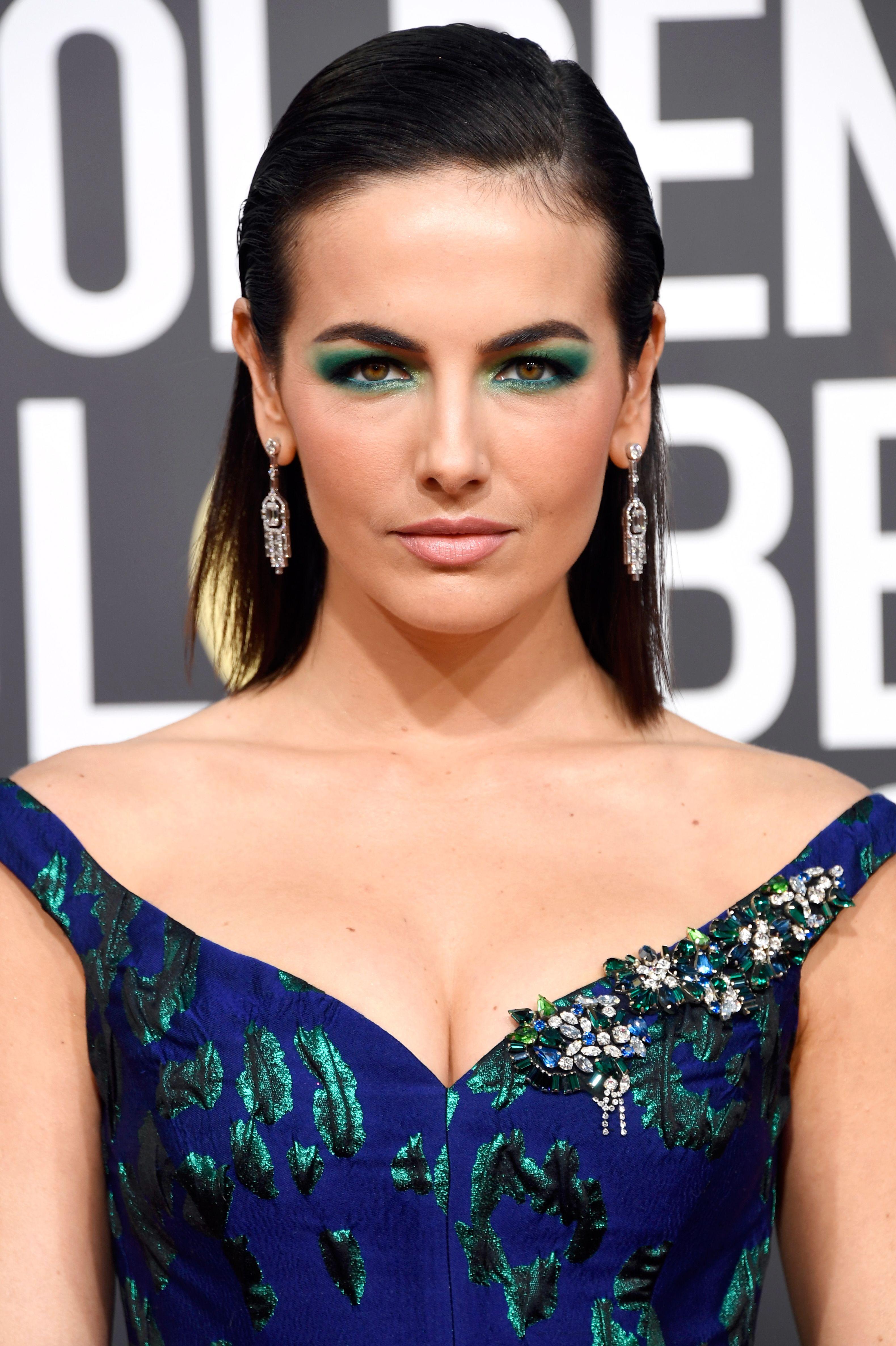 Camilla Belle Makeup - 76th Annual Golden Globe Awards - Arrivals