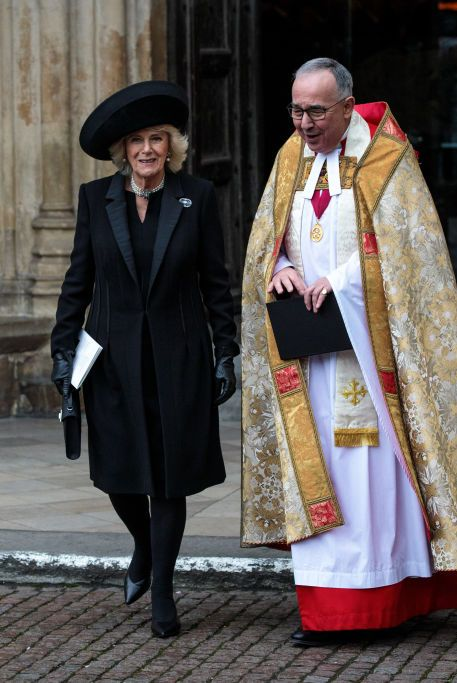 A Memorial Service Is Held For Conservative Peer Lord Carrington