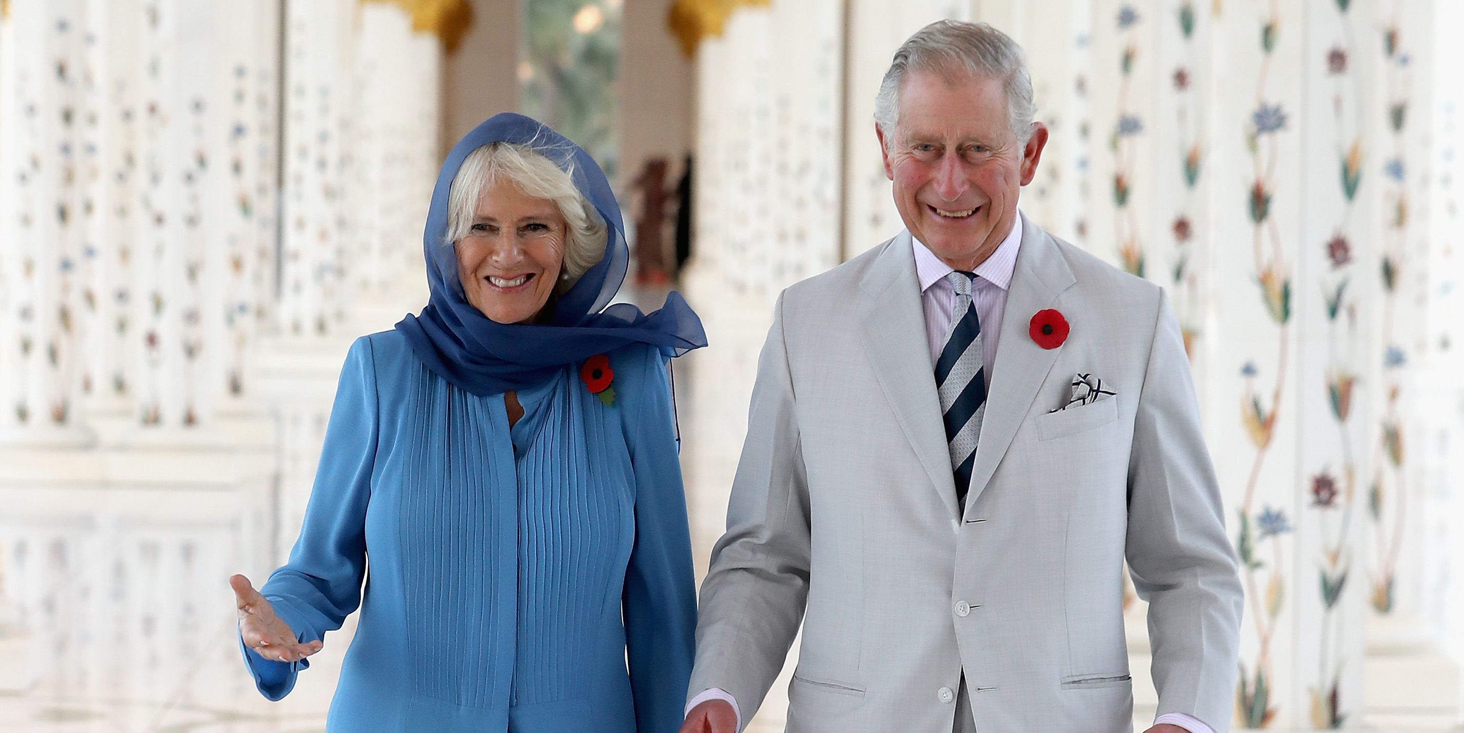 The Prince Of Wales And The Duchess Of Cornwall Tour United Arab Emirates - Day 1