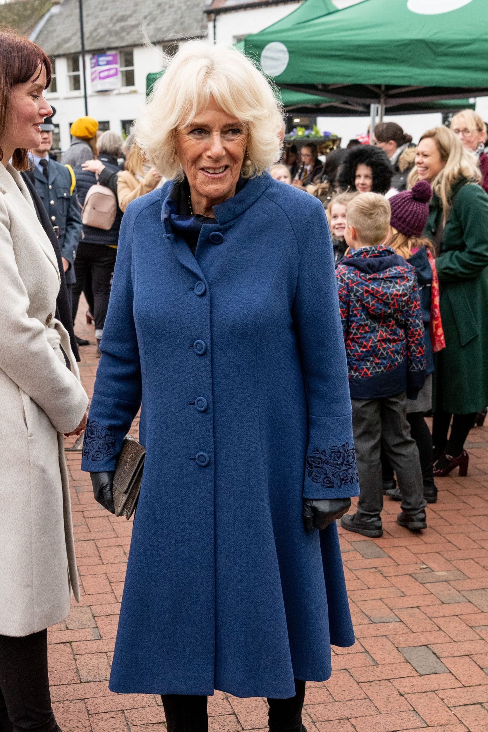 The Prince Of Wales & Duchess Of Cornwall Visit Ely Market