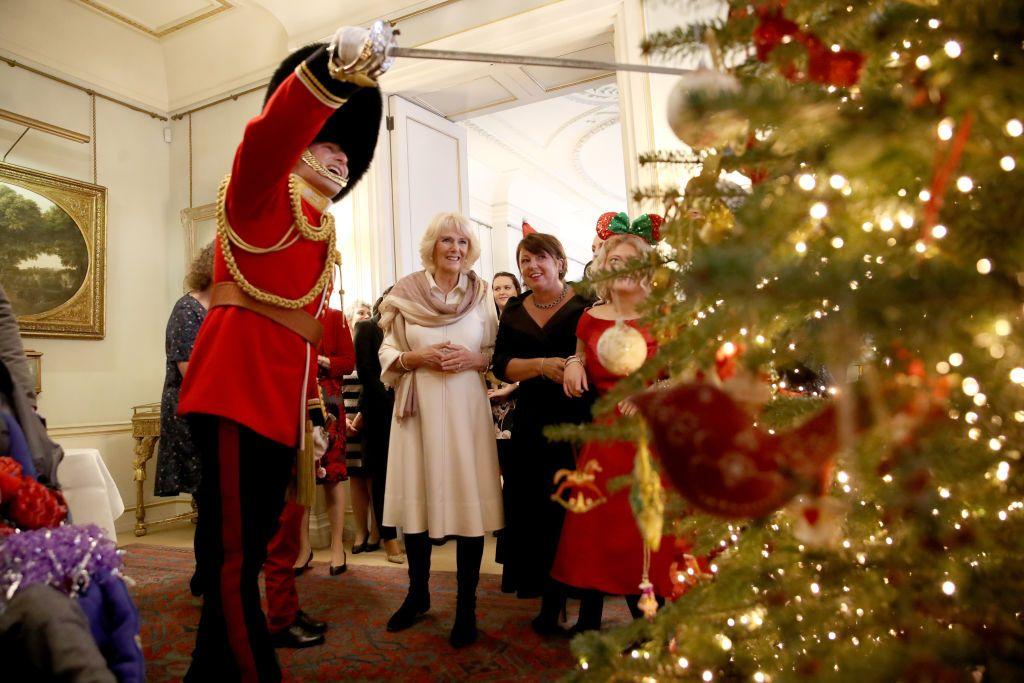 Clarence House Christmas Tree Photocall