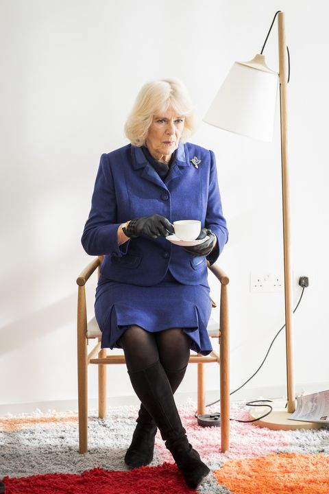 The Duchess Of Cornwall Undertakes Engagements In Sutton