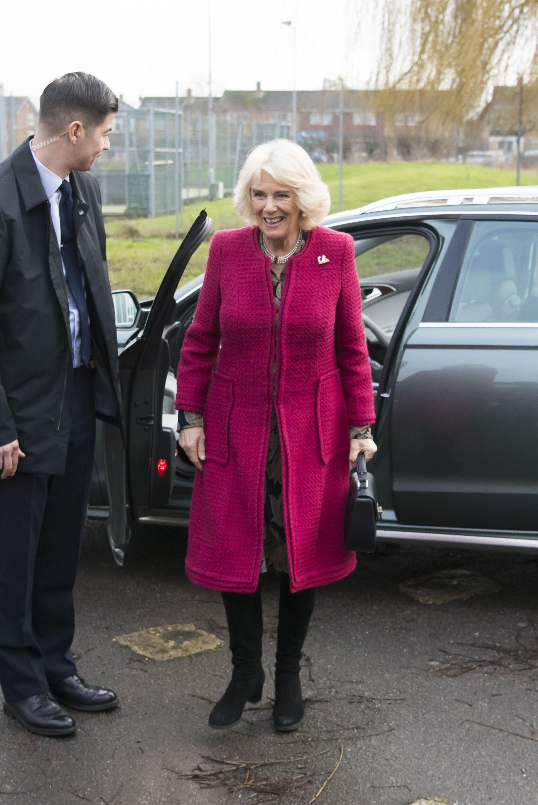 The Duchess Of Cornwall Visits Swindon