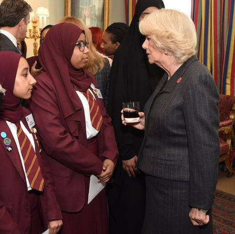 The Duchess Of Cornwall Hosts A Reception For 'WOW - Women Of The World Festival'