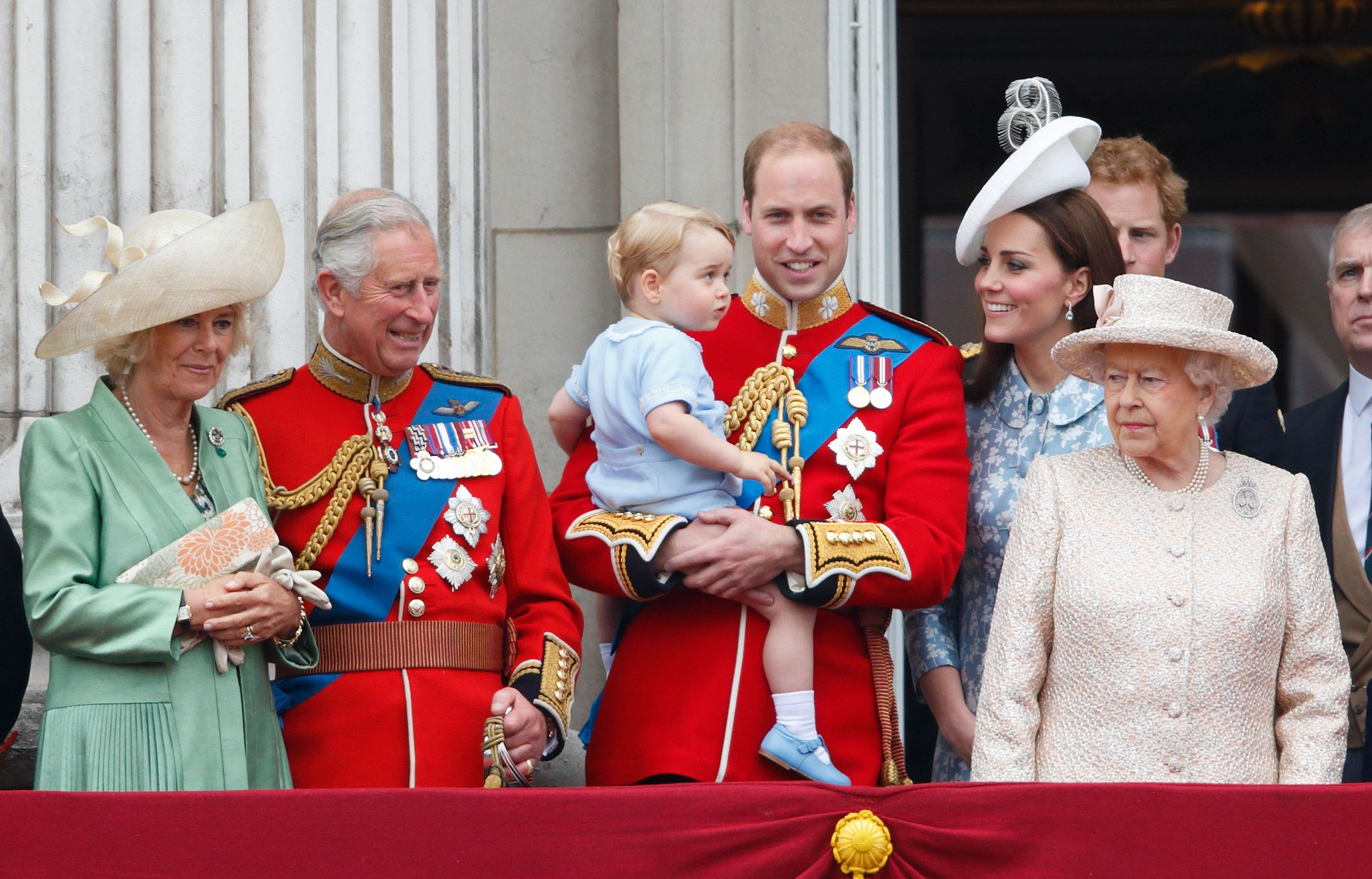What Trooping the Colour Looked Like the Year You Were Born
