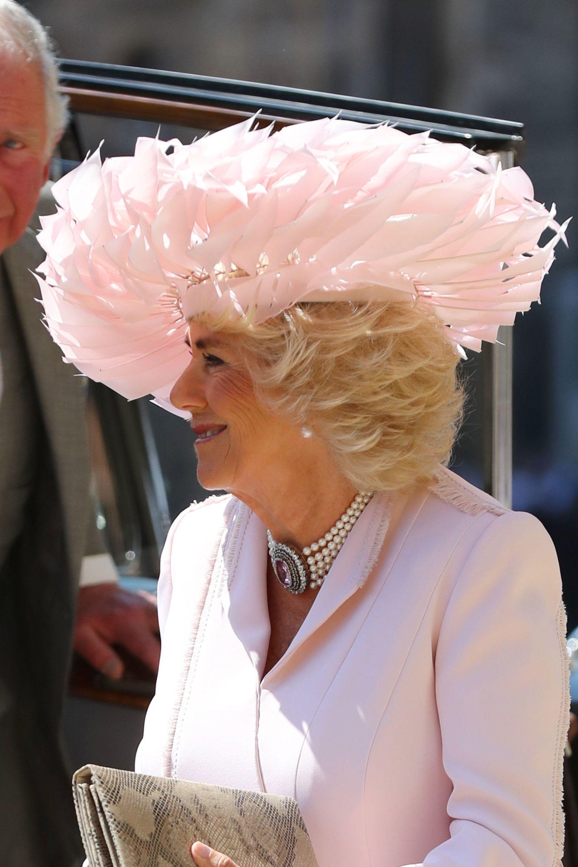 Royal Wedding Fascinators Hats And Hatinators At Meghan Harrys Ceremony
