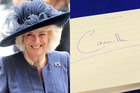 camilla duchess of cornwall signature