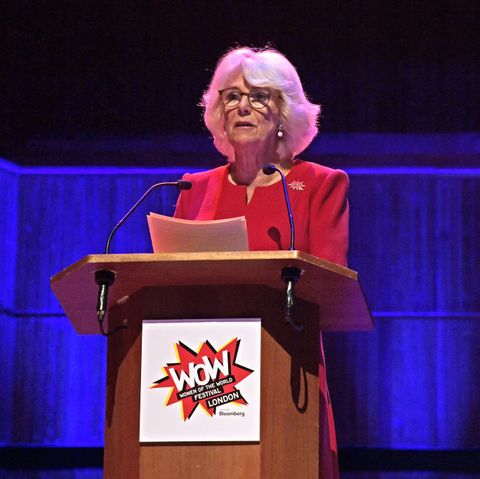 The Duchess Of Cornwall Attends The WOW Women Of The World Festival Grand Opening