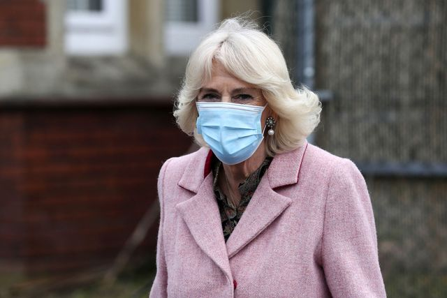 the duchess of cornwall visits community vaccination centre at st paul's church, croydon