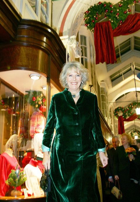 HRH The Duchess of Cornwall Switches on the Christmas Lights at Burlington Arcade