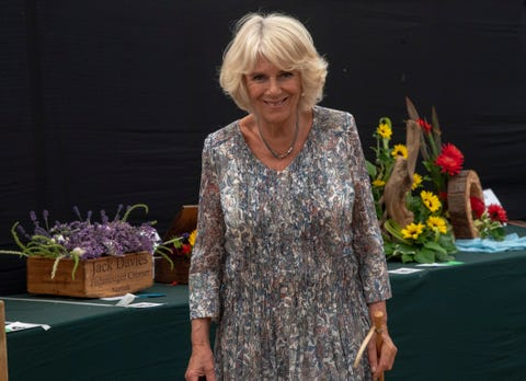 The Prince Of Wales And Duchess Of Cornwall Visit Sandringham Flower Show 2018