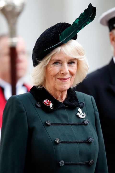 the duchess of cornwall attends the 92nd field of remembrance at westminster abbey