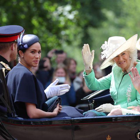 Camilla Parker-Bowles, Meghan Markle, Prince Harry
