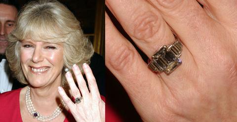 Camilla Parker Bowles' Engagement Ring Has a Fascinating Backstory