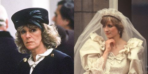 Camilla Parker Bowles And Princess Diana Wedding