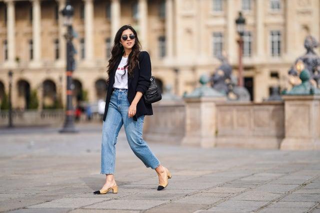 jeans wide leg tendencia
