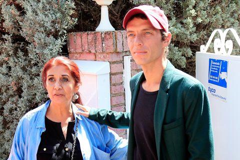 Camilo Sesto Junior y su madre Lourdes Ornelas