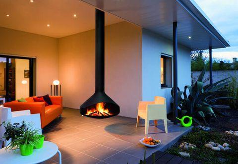 Caminetti da esterno di design per godersi serate all 39 aperto in ogni stagione - Caminetti per esterno ...
