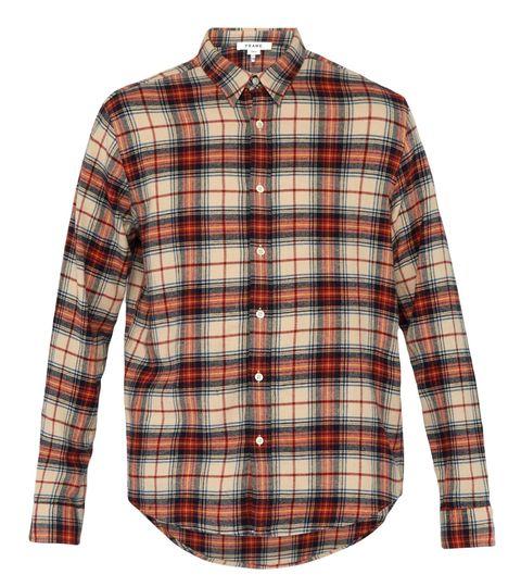 Camisa cuadros hombre, camisa FRAME